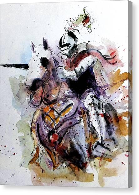 Chaaarge Canvas Print