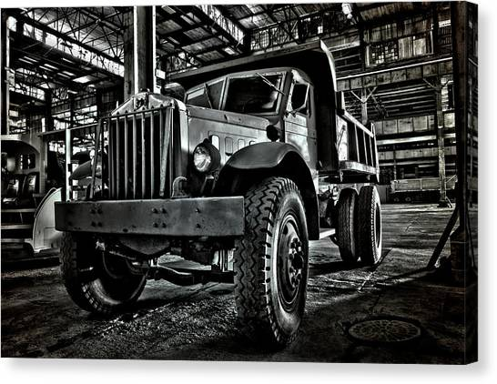 Chain Drive Sterling Canvas Print