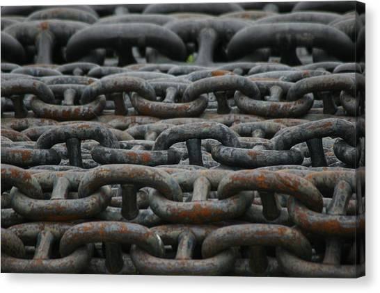 Chains Canvas Print by Hans Jankowski