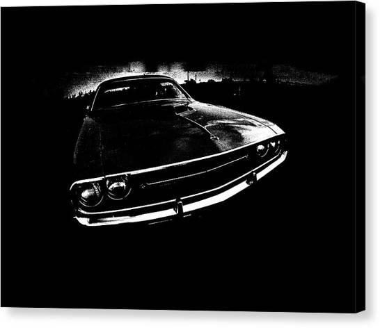 Dodge Canvas Print - Challenger by Mark Rogan