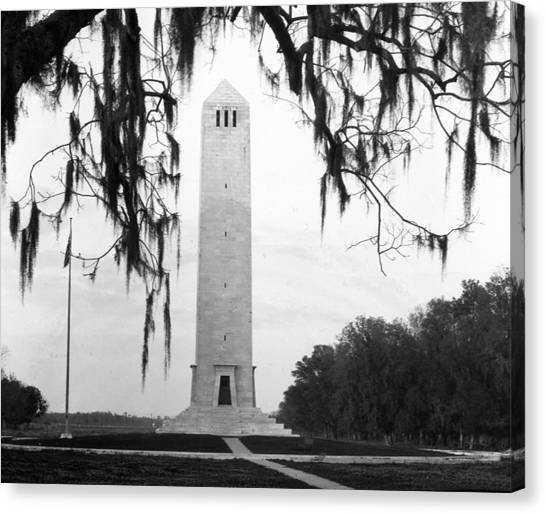 Chalmette Battlefield Monument  Canvas Print