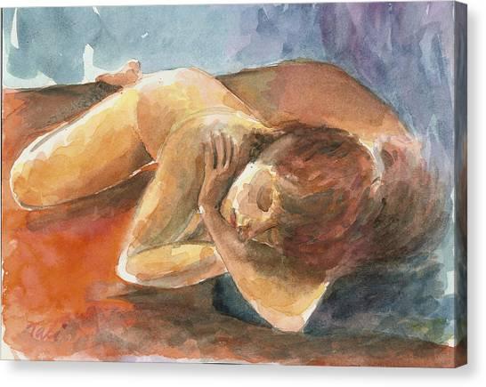 Chalom Parua Canvas Print by Tali Farchi