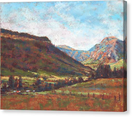 Chama Valley Light Canvas Print by James Roybal
