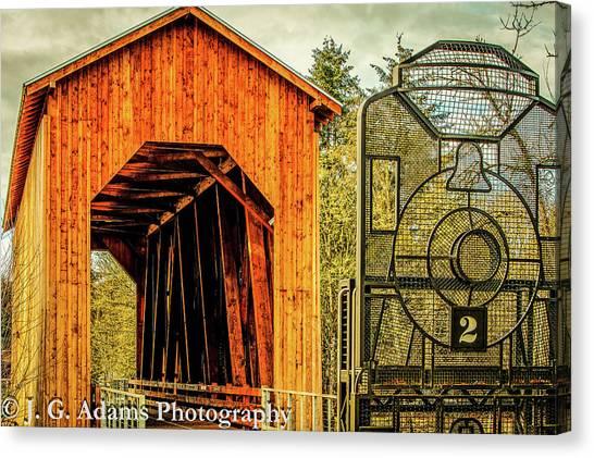 Chambers Railroad Bridge Canvas Print