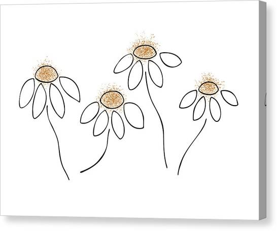 Spring Canvas Print - Chamomile by Frank Tschakert