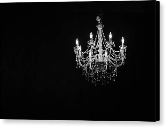 Chandelier  Canvas Print