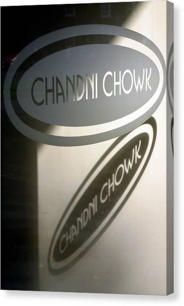 Chandi Chowk Canvas Print by Jez C Self