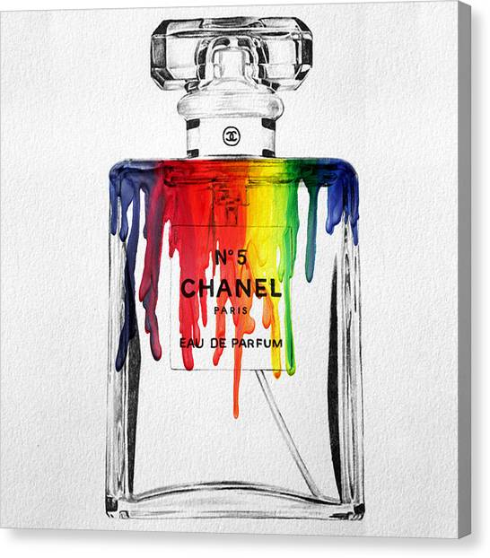 Rainbows Canvas Print - Chanel  by Mark Ashkenazi