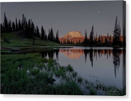 Canvas Print featuring the photograph Changing Lights by Gene Garnace
