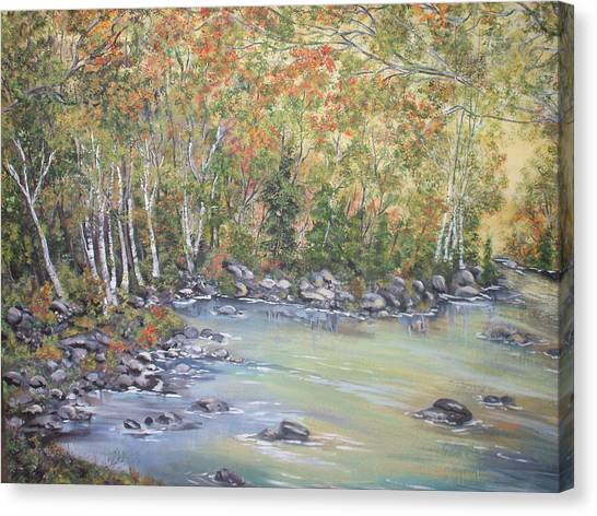 Changing Seasons Canvas Print by Bev  Neely