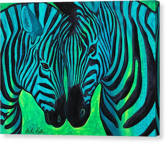 Changing Stripes Canvas Print