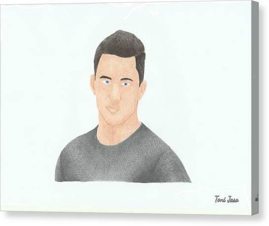 Channing Tatum Canvas Print