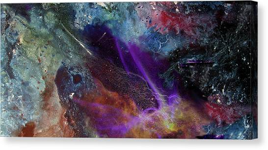 Chaos Of Creation Canvas Print by Sevan Thometz