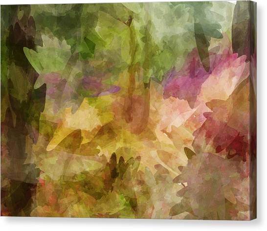 Chaos Canvas Print by Sandy Belk