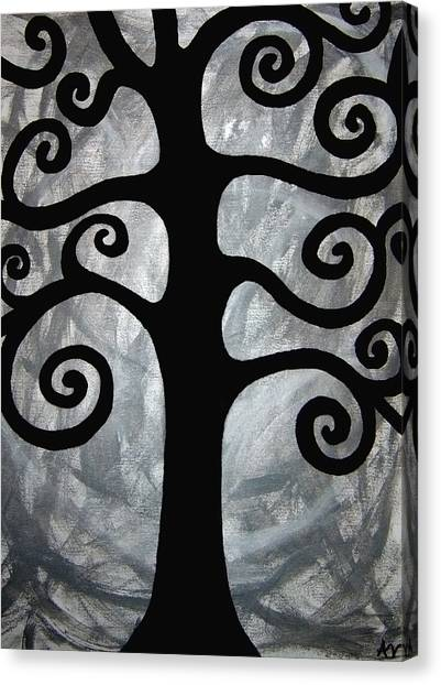 Chaos Tree Canvas Print