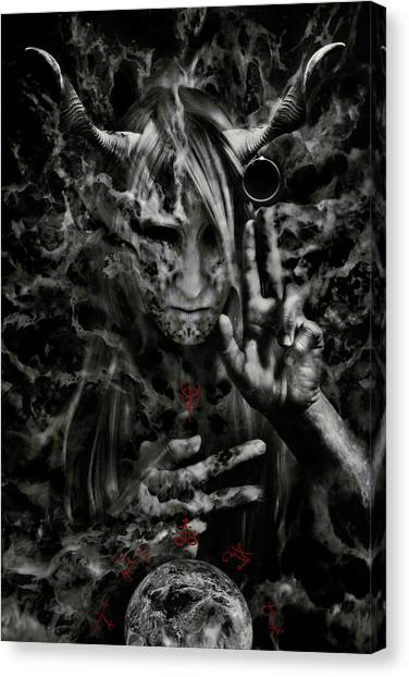 Magicians Canvas Print - Chaosbringer by Cambion Art