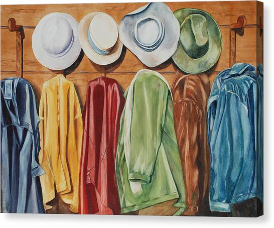 Chapeaux Lanroz Canvas Print