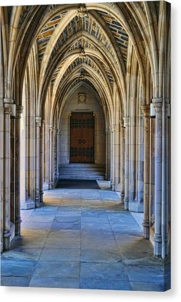 Chapel Arches Canvas Print