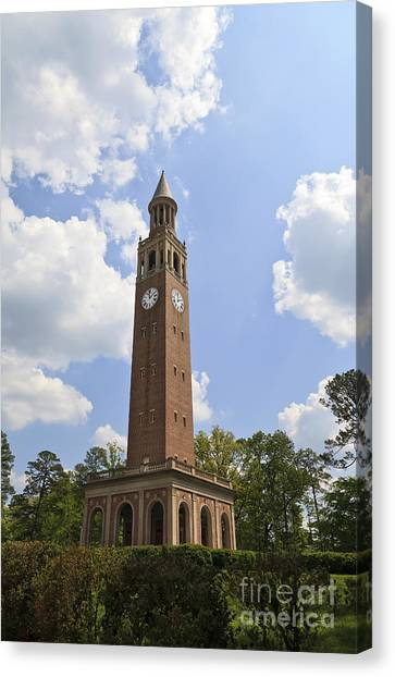 Chapel Hill Bell Tower Canvas Print