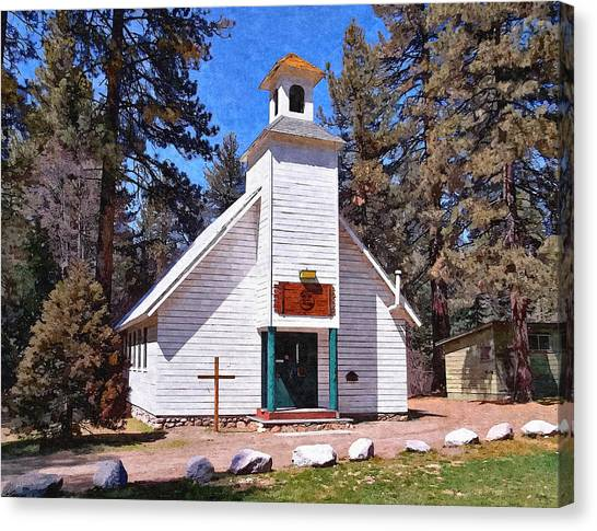 Prophetic Art Canvas Print - Chapel On The Mountain by Glenn McCarthy Art and Photography
