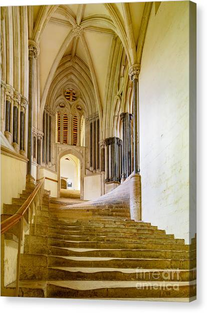 Chapter House, Wells Cathedral Canvas Print