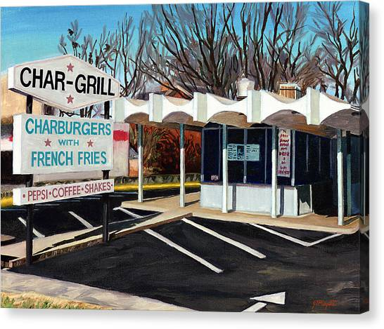 Char Grill Hillsborough St Canvas Print