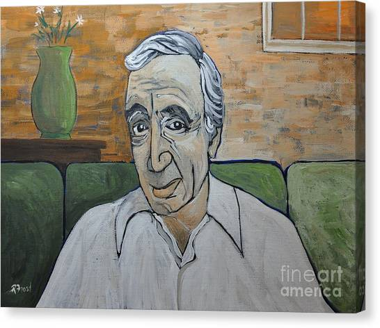 The Legion Canvas Print - Charles Aznavour by Reb Frost