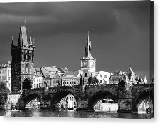 Charles Bridge Prague Czech Republic Canvas Print