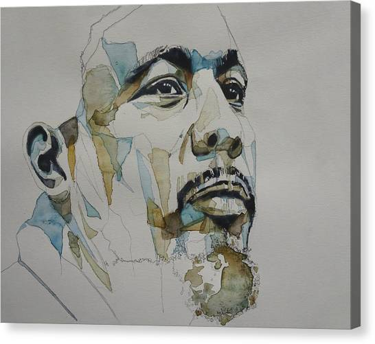 Cellos Canvas Print - Charles Mingus  by Paul Lovering