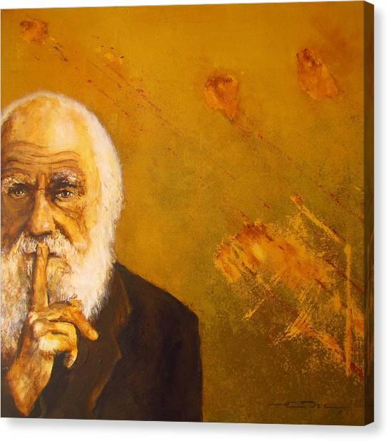 Charles R. Darwin Canvas Print