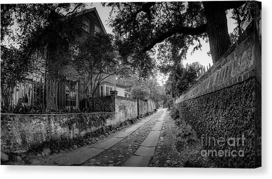 Charleston Ally Path Canvas Print