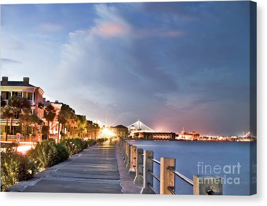 Charleston Battery Photography Canvas Print