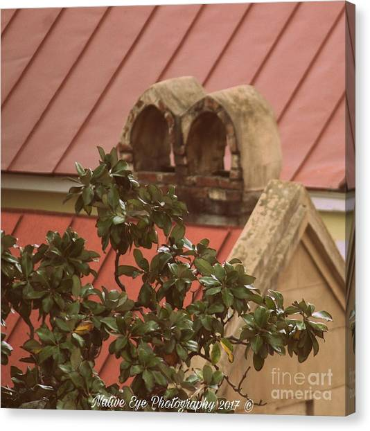Canvas Print - Charleston Chimneys 102 by Lisa Marie Towne