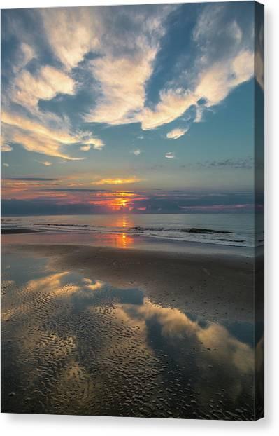 Charleston Coast Sunrise Canvas Print