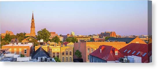 Charleston Glows Canvas Print