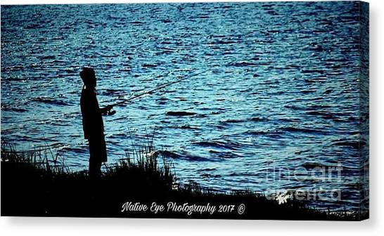 Canvas Print - Charleston Morning Fishing by Lisa Marie Towne