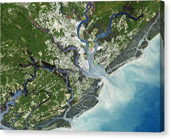 Atlantic 10 Canvas Print - Charleston, South Carolina, Usa by Planetobserver