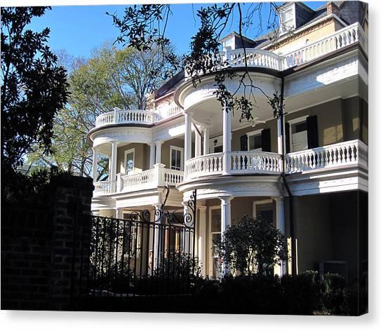 Architectur Canvas Print - Charlestons Beautiful Architecure by Susanne Van Hulst
