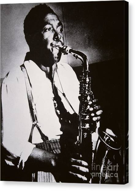 Braces Canvas Print - Charlie Parker by American School