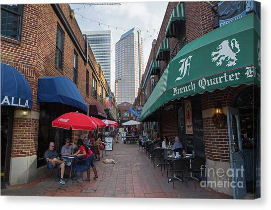 Charlotte, North Carolina Canvas Print