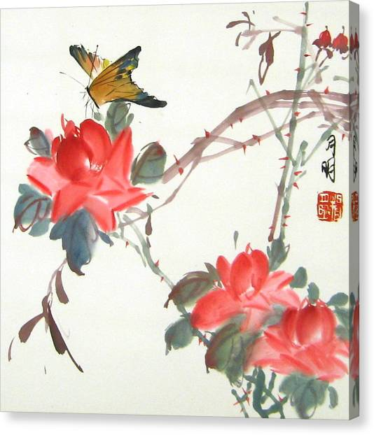 Charm Of Nature Canvas Print by Ming Yeung
