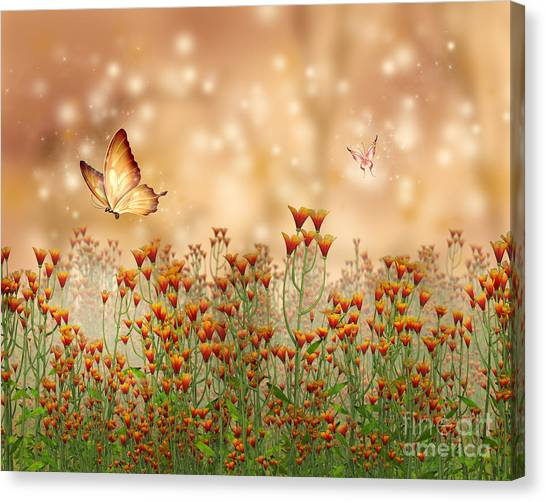 Charmed Blossoms Canvas Print