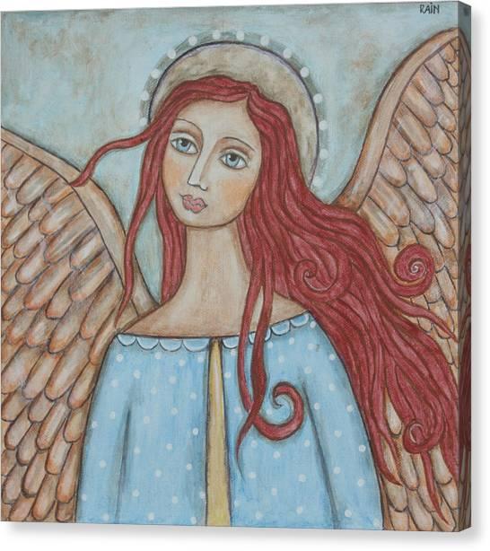 Charmeine Canvas Print by Rain Ririn