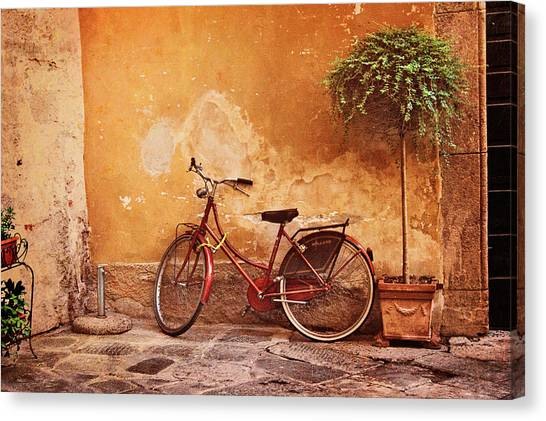 Charming Lucca Canvas Print