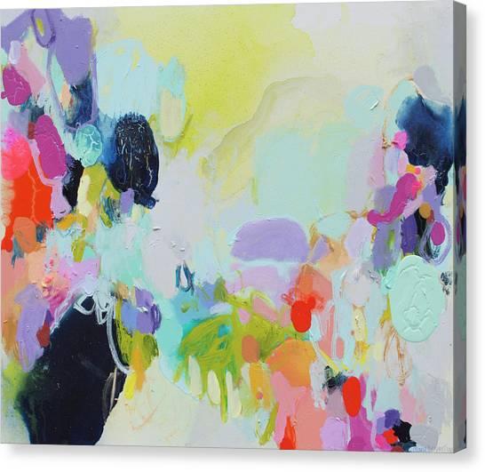 Canvas Print - Chartreuse Stop by Claire Desjardins