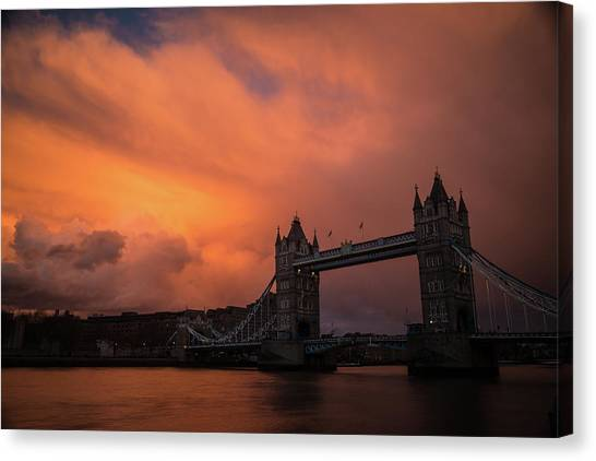 Chasing Clouds Canvas Print