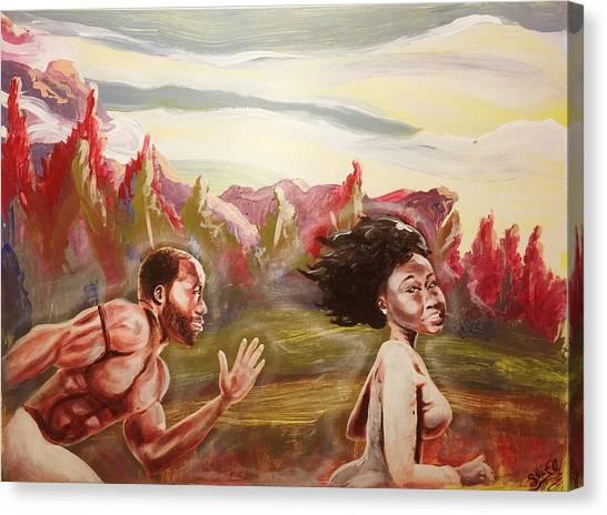 sean ivy aka afro art ivy canvas prints