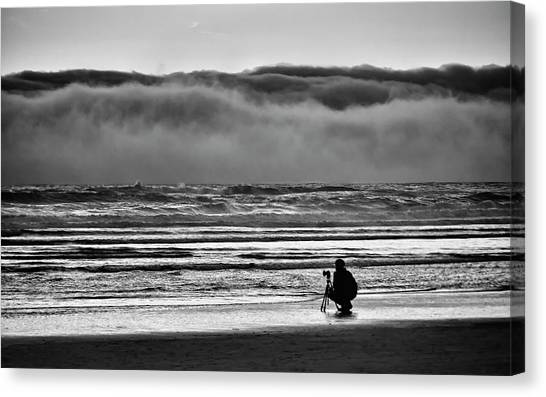 Chasing Tide And Light Canvas Print