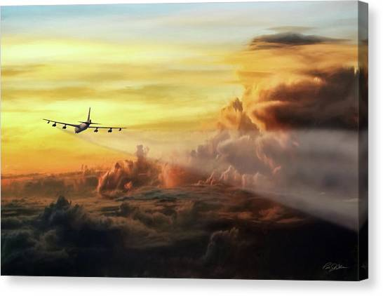 Cold War Canvas Print - Chasing Twilight by Peter Chilelli