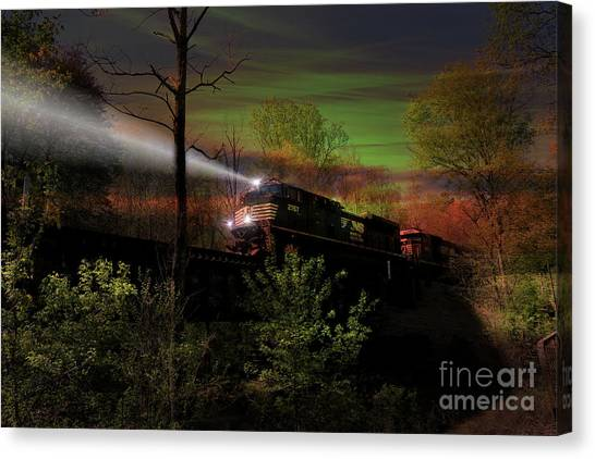 Chasing Twilight Canvas Print